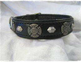 Hundehalsband-black celtic